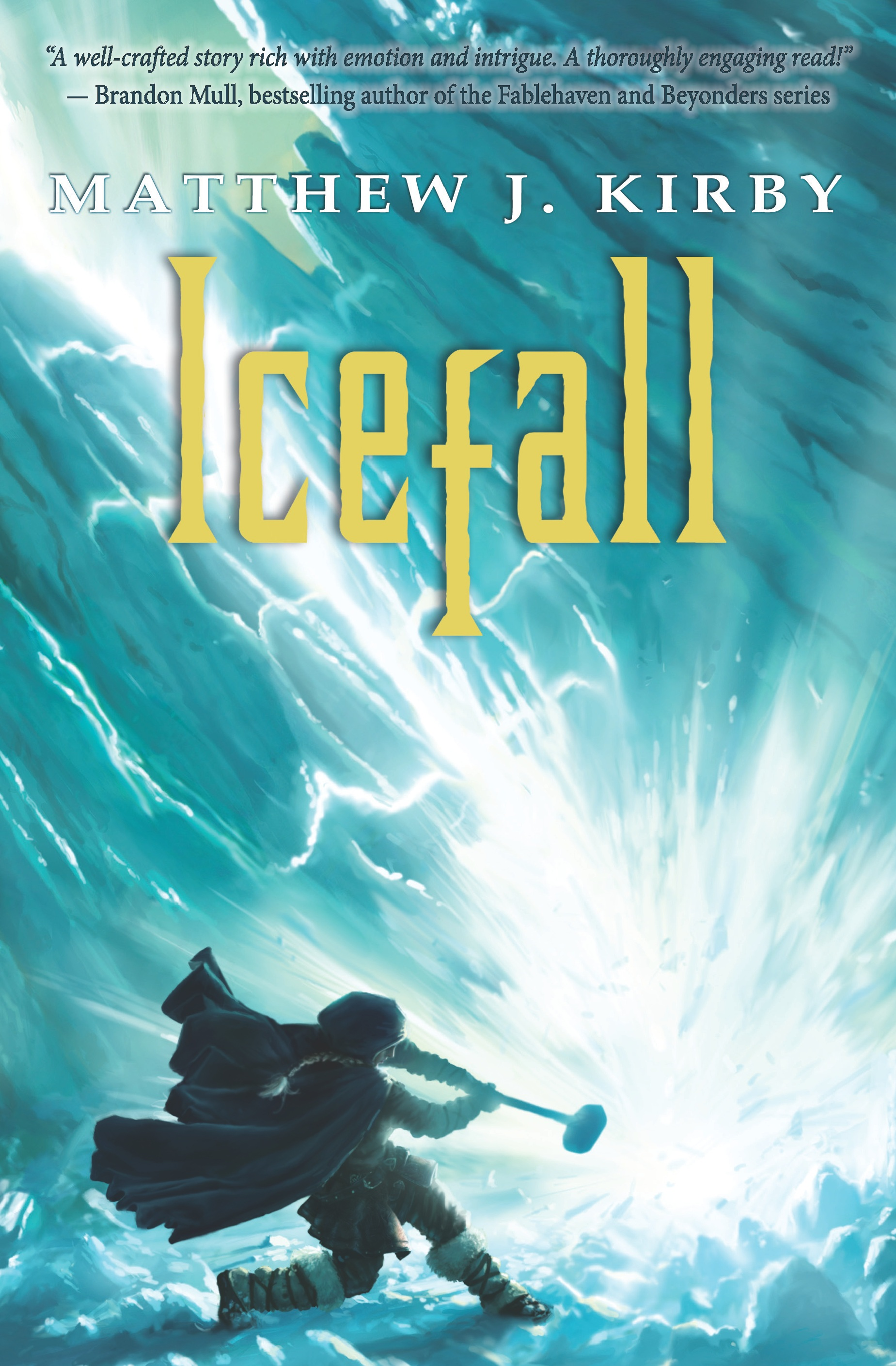 Icefall by Matthew Kirby book cover