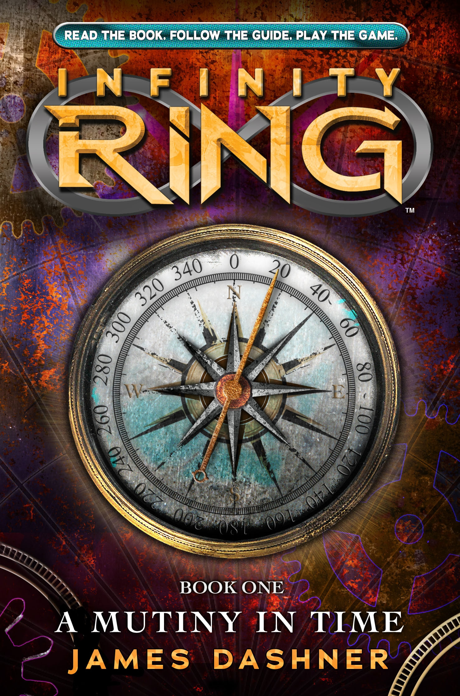 A Mutiny in Time cover reveal! | Kirbside Infinity Ring Book Series